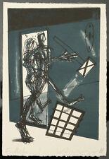 Volmer, Steffen  (1955) - ENDLICH...! Lithografie 1988