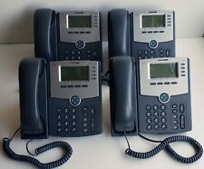 Lot of 4 Cisco SPA504G 4 Line Display Phones 74-6648-01