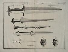 Dolch Schwert Waffen-Schmied Schmiede Widderkopf Ziseleur dagger sword armourer