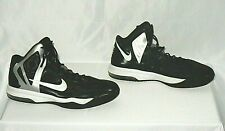 Nike Air Max Hyper Aggressor Hi-Top Shoes Black/White/Gray Size 9.5