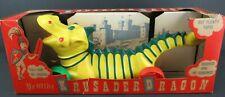 VINTAGE 1950's KRUSADER DRAGON ACTION PULL TOY in box unused