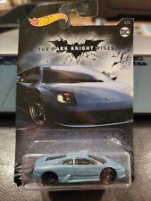 Hot Wheels The Dark Knight Rises Lamborghini Murcielago BLUE 6/6