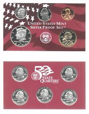 2002-S US Mint Silver 10-Piece Proof Set Gem Set In Original Holder W/COA