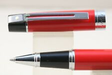 NOS Sheaffer 300 Ferrari Red Scuderia Rollerball Pen, NT