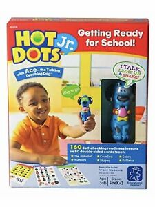 educational insights Hot Dots Jr. getting ready for school set 160 lessons