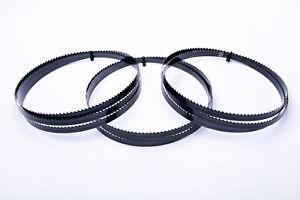 3er SET Encut Hochleistungs-Bandsägeblatt 2600 x 13 x 0,65mm, 8 ZpZ Werkzeugstah