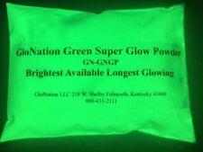 Glow in the dark powder 1 ounce GloNation Green Brightest Glow Pigment