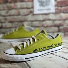 CONVERSE All Star Ox Chuck Taylor Renew Men's Shoes Size 9 Green 166373C NEW