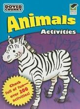 Animals Activities Dover Chunky Book (Dover Little Activity Books)