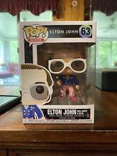 Funko Pop! - Rocks # 63 - Elton John - Red, White & Blue - Vinyl Figure