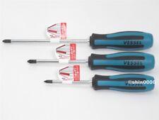 Vessel Megadora 900 P1x75 P2x100 P2x150 JIS Cross Point Screwdriver Set Japan