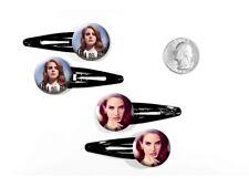 Lana Del Rey American Pop Star Ultraviolence West Coast Set of 4 Barrettes