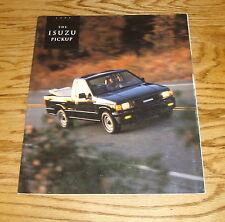 Original 1993 Isuzu Pickup Sales Brochure 93