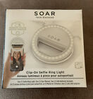 Soar Clip On Ring Selfie Light With Batteries Cell Phone Selfie Light NEW