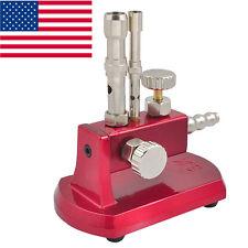 USA Dental Lab Gas Light Bunsen Burner Dentist Adjustable Rotatable Equipment CE