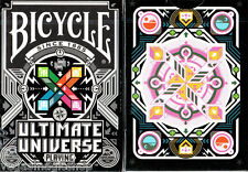 Ultimate Universe Colored Deck Bicycle Playing Cards USPCC Poker Size Limited Ed