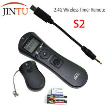 JINTU Wireless Timer Intervalometer Remote Control for SONY A3000 A6000 A7 A7R