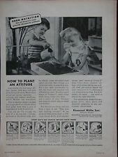 1946 How To Plant An Attitude General Mills Inc. Advertisement