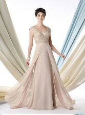 NEW MON CHERI MONTAGE 213992 MOTHER OF THE BRIDE FORMAL EVENING LONG GOWN DRESS