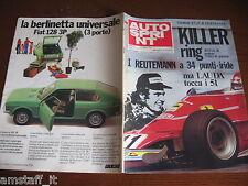 AUTOSPRINT 1975/32=GP F1 GERMANIA=REUTEMANN=REGAZZONI=FIAT 128 3P=