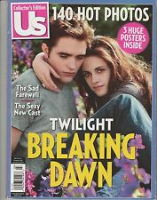 US Collector's Edition Magazine, Twilight Breaking Dawn Comes with 3 Posters!