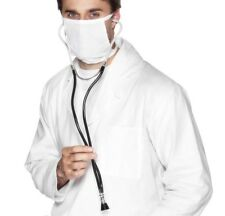 DOTTORI Costume Stetoscopio medico Surgeon infermiera medico NUOVO