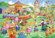 The House Of Puzzles Kidzjigz - 80 PIECE JIGSAW PUZZLE - Funfair Games Children
