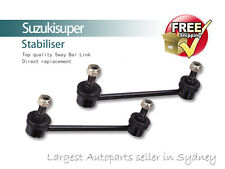 2 Front Sway Bar Link Kit Infiniti QX4 Stabiliser 1997-2003 Pair
