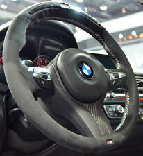 BMW OEM F30 F22 F32 F33 M Performance Alcantara & Carbon FIber Steering Wheel