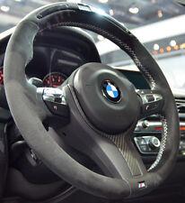 BMW OEM F30 F22 F32 F33 M Performance Alcantara & Carbon FIber Steering Wheel