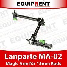 Lanparte MA-02 Magic Arm / Heavy Duty Gelenkarm für Rigs mit 15mm Rods (EQC49)