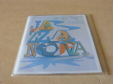 JAZZANOVA - OF ALL THE THINGS !!!!! CD COLLECTOR !!!!!DJ CD!!!!!