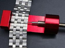 Professional Link Pin Remover Adjuster Watch Band Bracelet Strap Repair Tool New