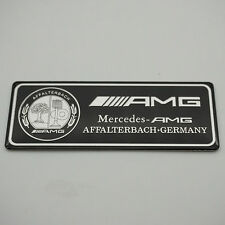 NEW High Quality Car Interior Apple Tree Black Silver AMG Badge Sticker For amg