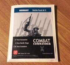 GMT Combat Commander Battle Pack 3 Normandy, UP; in generic folder