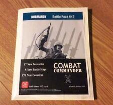 GMT Combat Commander Battle Pack 3 Normandy, UP; in generic folder