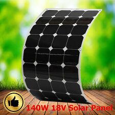 Sunpower Elfeland 140W Watt 18V Solar Panel Semi-flexible For Boat Caravan Power