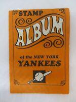 TOPPS 1969 STAMP ALBUM New York YANKEES MANTLE, PEPITONE, TRESH  ETC.....