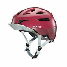 Bern Parker Mountain Bike Urban MTB Bicicletta Casco Cranberry Boa S M