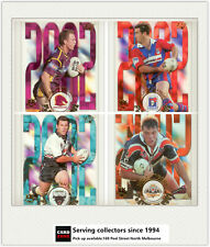 2003 Select NRL XL Cards Club Player Of The year CP Cards Full Set(15)