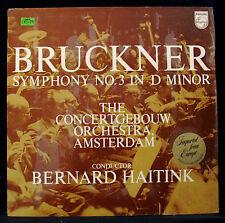BRUCKNER: Symphony No.3 In D Minor-PHILIPS #835 217 AY Holland Import-Near Mint