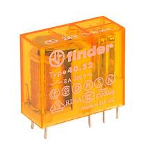 Miniature DC DPDT 8A Finder 40.52.7.024.0000 24V Relay