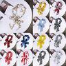 Women Small Silk Scarf Satin Long Neckerchief Head Neck Wrap Ribbon Bow Scarves
