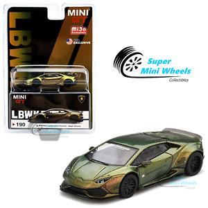 Mini GT 1:64 LB WORKS Lamborghini Huracan ver. 2 (Magic Bronze) #190