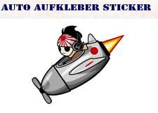 Kamikaze JDM Drift Race Bunte Sticker Aufkleber Digital JDM Tuning Style