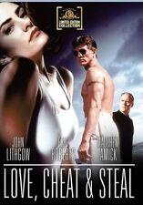 LOVE CHEAT & STEAL (1993 Eric Roberts)  - Region Free DVD - Sealed