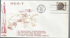 1968 OGO-V, Moving Pictures of Earth, Launched, Orbit Covers