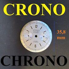 quadrante stadium angelus venus 210 215 chronograph dial 36 mm watch zifferblatt