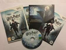 NINTENDO Wii VIDEO GAME VIDEOGAME HARRY POTTER & THE DEATHLEY HALLOWS PART 1 PAL