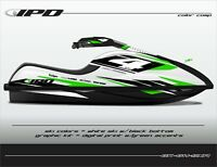 IPD Jet Ski Graphic Kit for Kawasaki SXR (GH Design)
